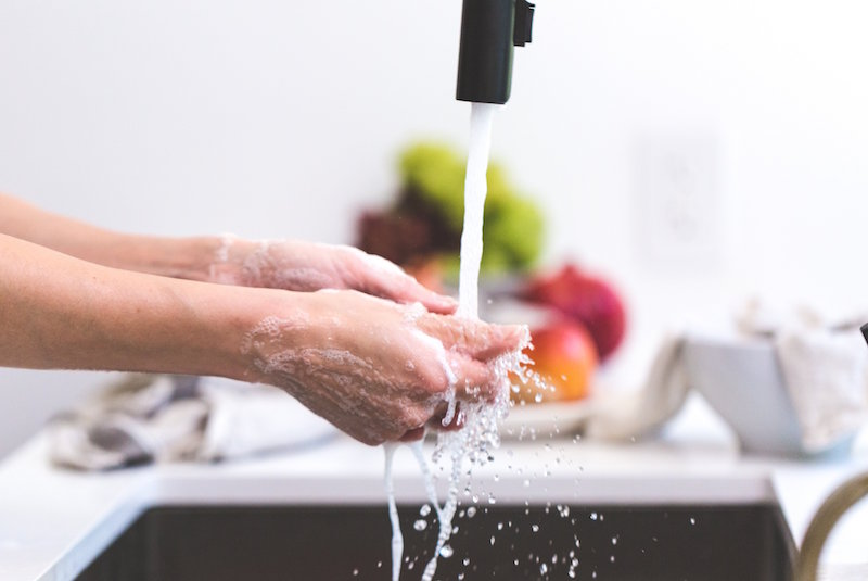 washing hands (tips to prepare for flu season)