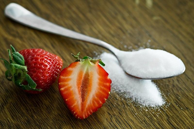 prediabetes - strawberries and sugar