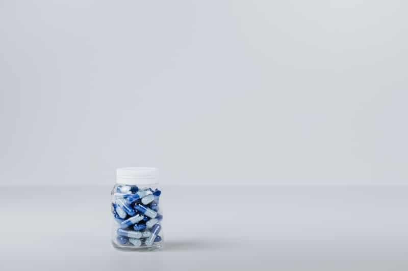 antibiotics in jar